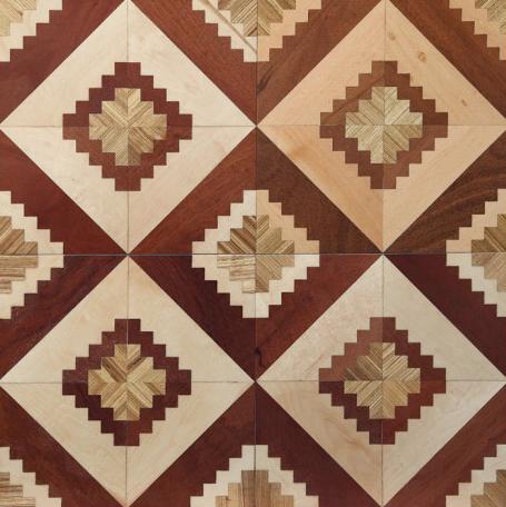 往往只限于欧式风格和地中海风格;此外传统的拼花地板还受限于幅面